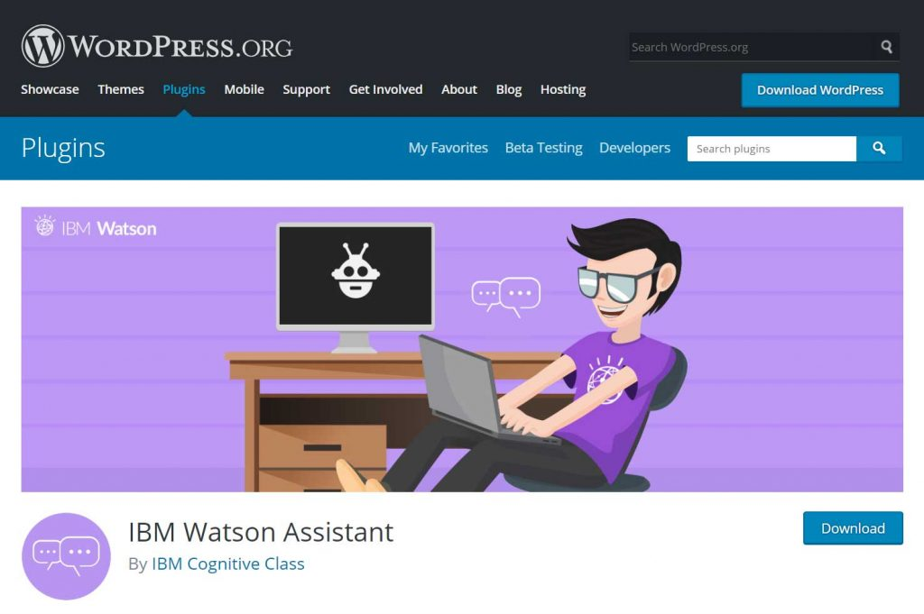 WordPress Plugins IBM Watson Assistant